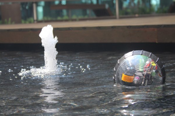 Portable Amphibious Spherical Robot for land and aquatic deployment