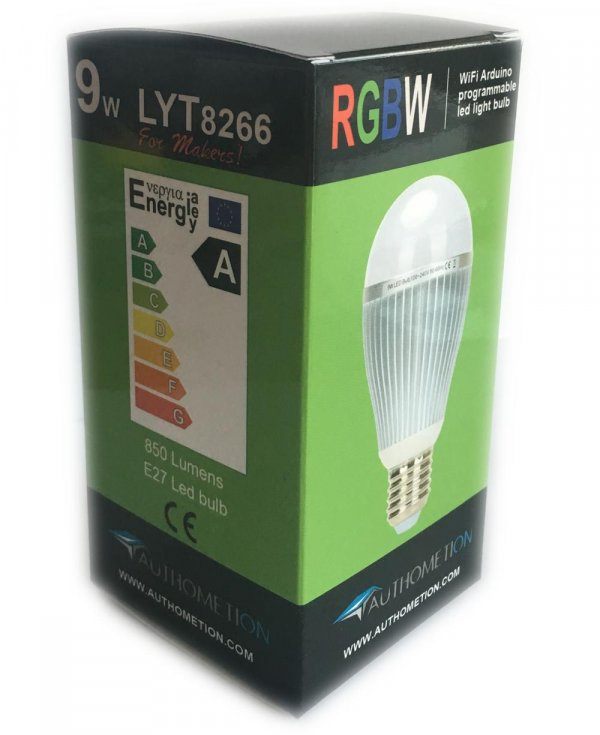 Lampadine led RGB-W Open Source