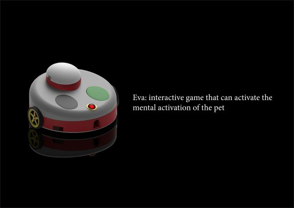 EVA: interactive game for the mental activation of the pet