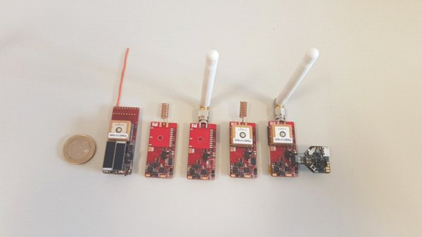 Ultra low power sensor board for wild animal tracking
