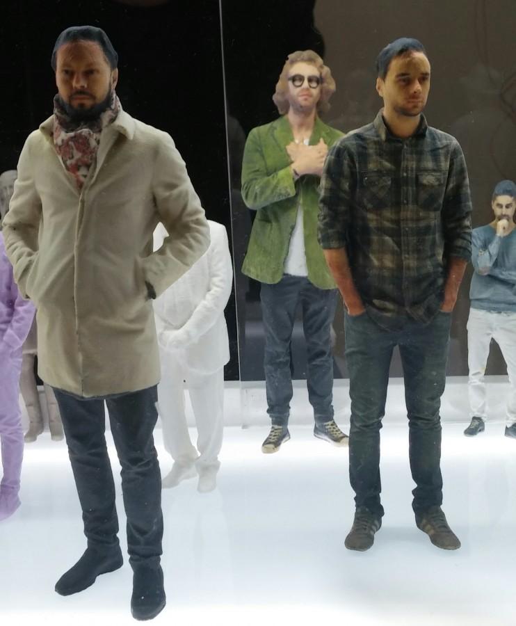 I ritratti 3D - fedelissimi! - di EUMakers