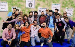 Maker Faire Rome Mashcream Team
