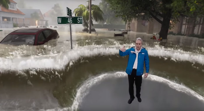 AugmentedReality Flooding