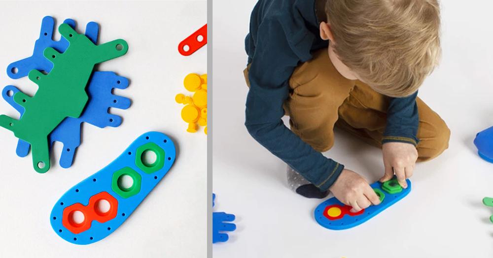 """Le scarpe """"fai da te"""" che stimolano la creatività e la manualità del bambino"""