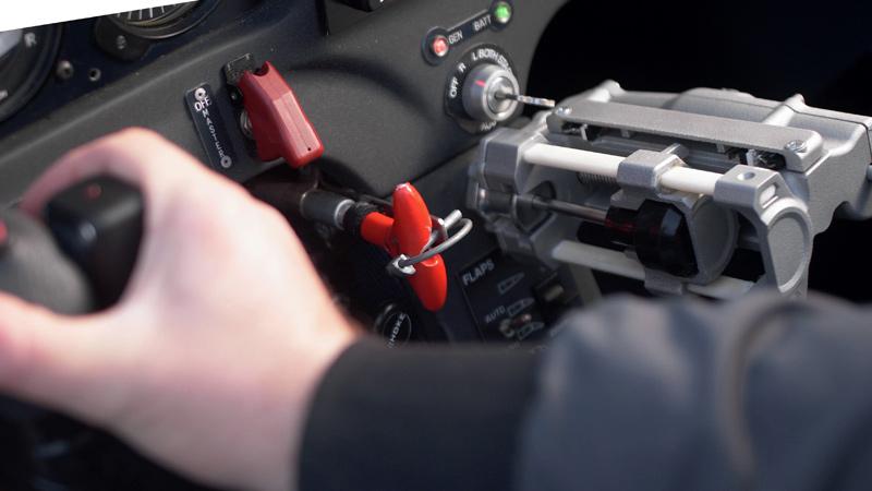 La stampa 3D entra in cabina di pilotaggio e realizza un sogno