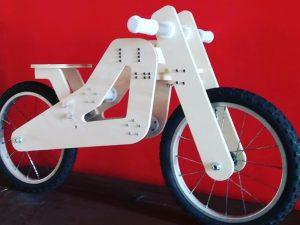 La Alberto Marzaioli Balance Bike (foto: Kromlabòro FabLab)