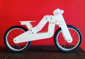 Alberto Marzaioli Balance Bike (foto: Kromlabòro FabLab)