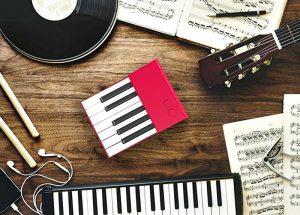Ottavia, la tastiera smontabile e modulare con un'ottava sola