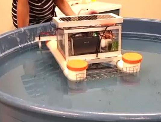 Hydrocarbot in funzione (foto: Hydrocarbot.eu)