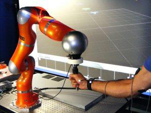 Il robot collaborativo MOCA (foto: IIT)
