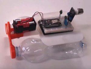 Un dettaglio del robot Specchi d'acqua (foto: Alberto Nidasio/YouTube)