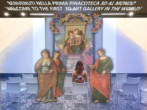 Evolving Virtual Room, la prima pinacoteca 3D al mondo