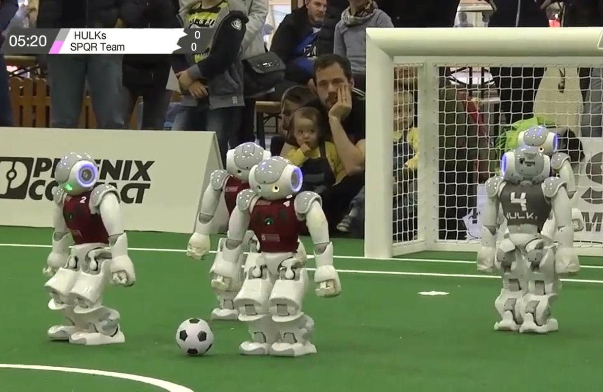 Robocup - Mondiale di calcio robotico