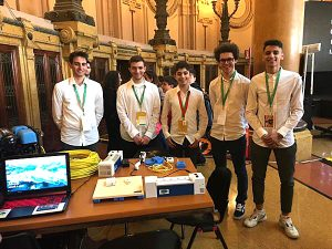he students in the Electronics-Automation course who designed the Blind Helper Toolkit