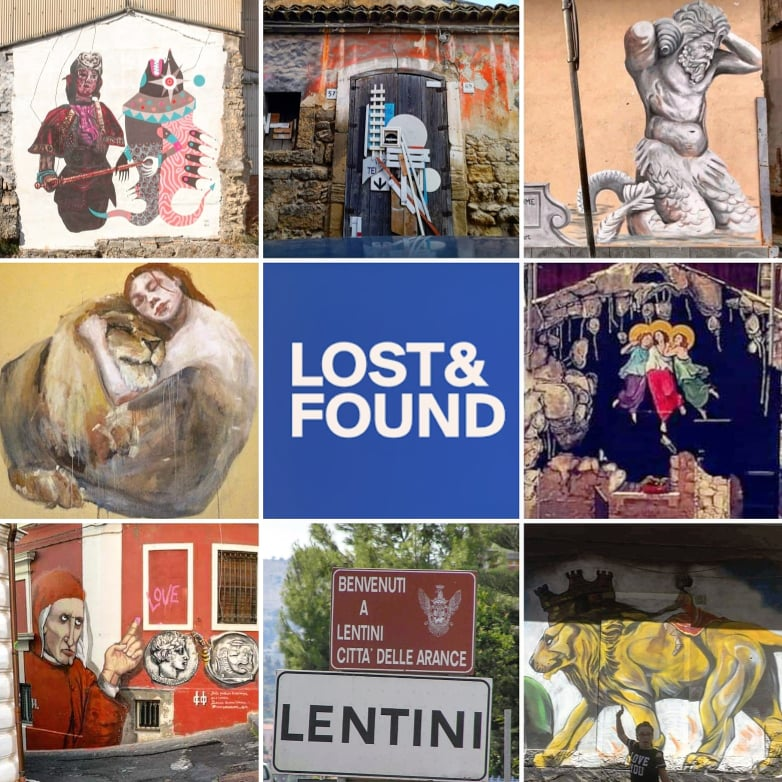 Collage Badia Lost & Found di Lentini