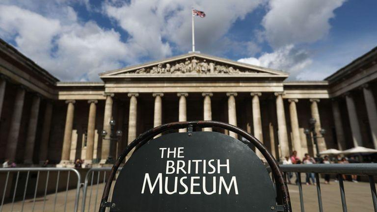 Facciata esterna The British Museum
