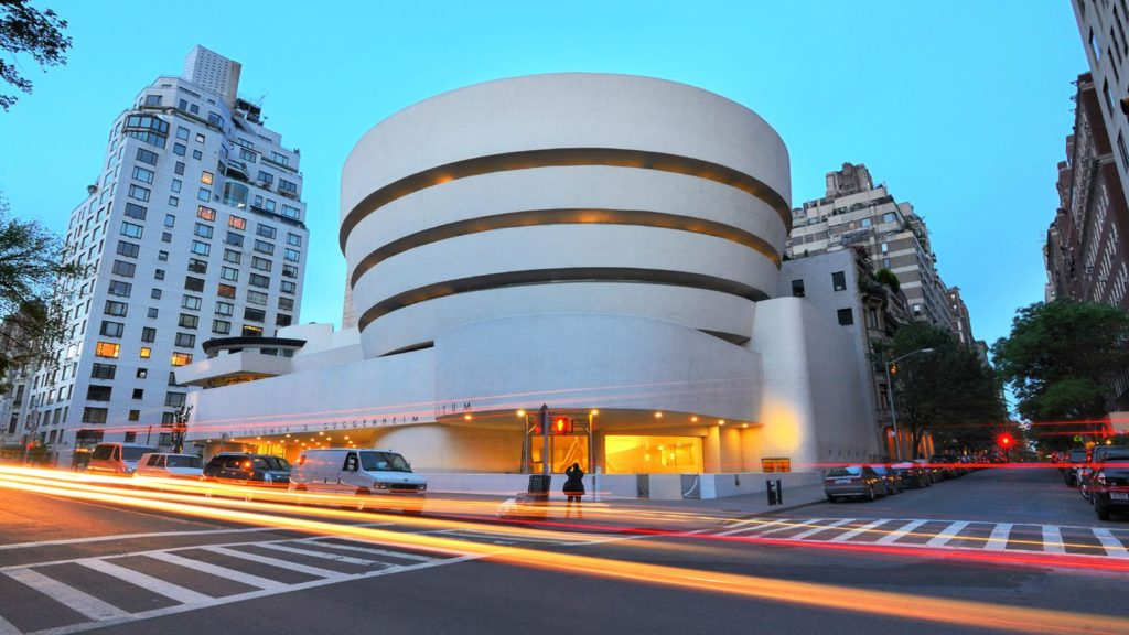 Immagine facciata esterna Guggenheim Museum New York