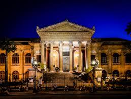Immagine facciata esterna Teatro Massimo