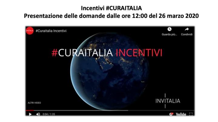 CuraItalia - Incentivi riconversione produttiva