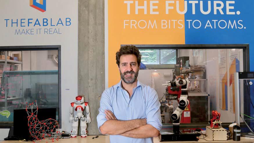 Massimo Temporelli, fondatore di The FabLab