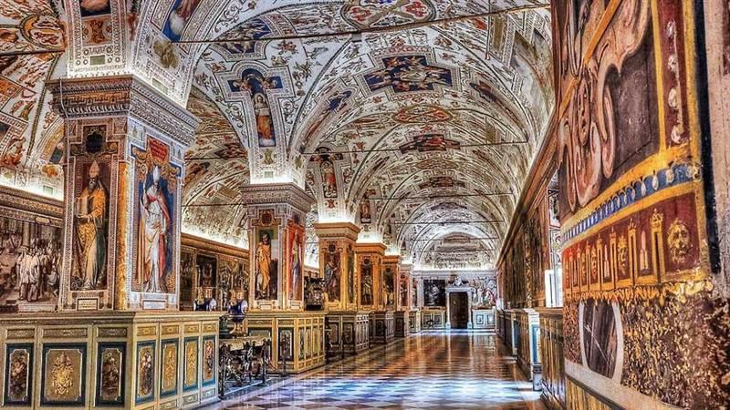 Immagine interno Musei Vaticani