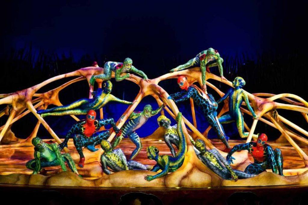 Locandina Cirque du Soleil