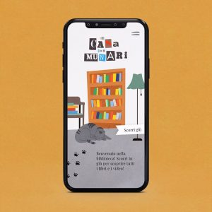 In casa con Munari - web app