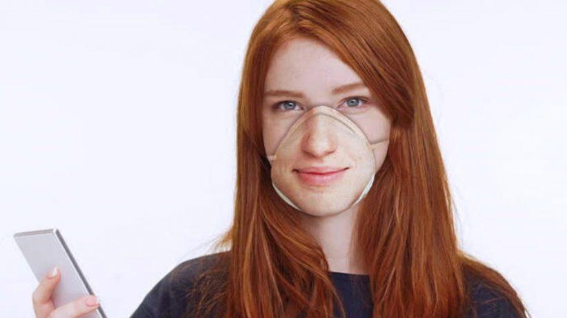 Facial recognition respirator mask
