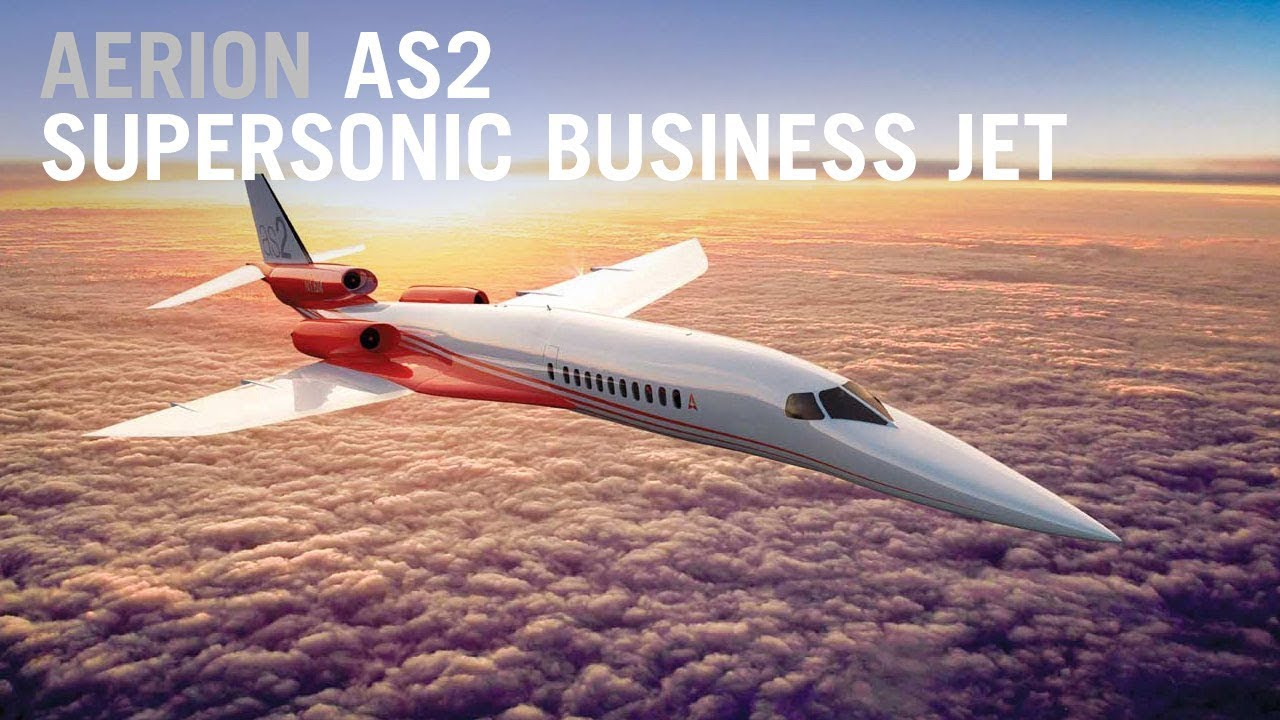 Aerion supersonic jet S2