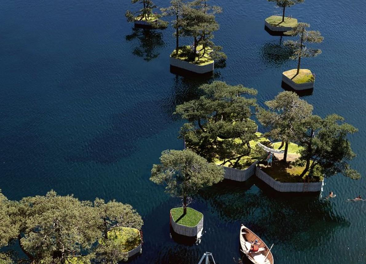 Copenhagen, nasce il Parkipelago