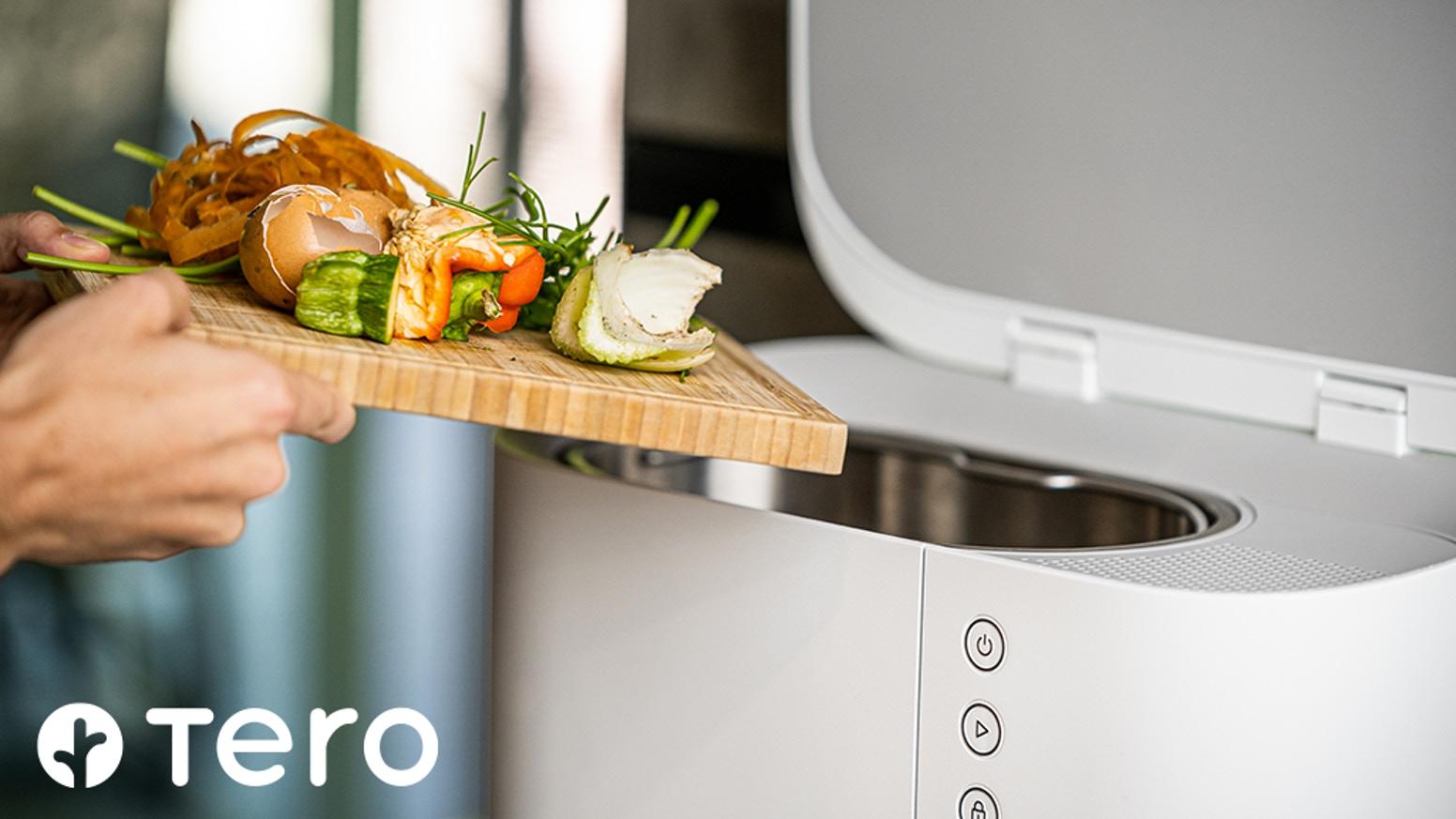 Tero: il compostaggio perfetto inizia in cucina