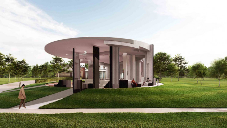 The Serpentine Pavillion 2020 by Counterspace Studio