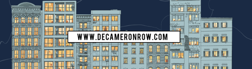 Decameron Row, 100 artists, 100 stories!