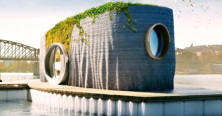 Eco-Friendly 3D Printed House is ready in 48 hours!