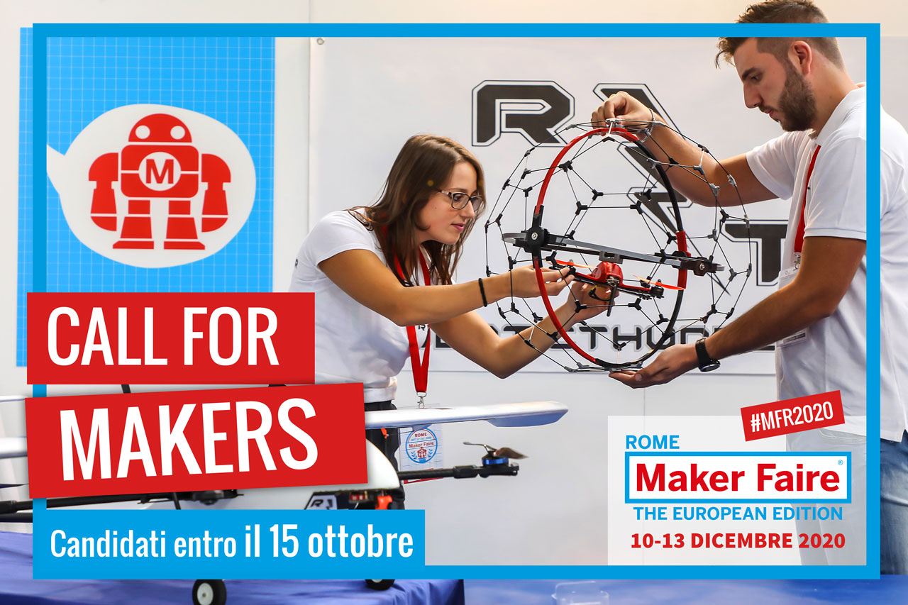 La Call for Makers 2020 è aperta!