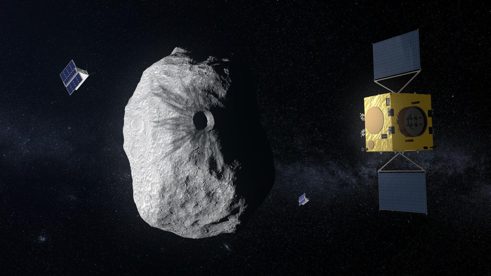 Asteroidi: Hera, il satellite, ci proteggerà!