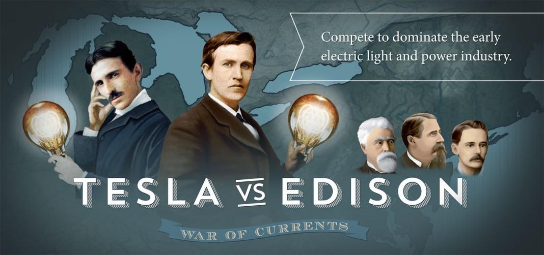 Tesla VS Edison: la guerra delle correnti (elettriche)
