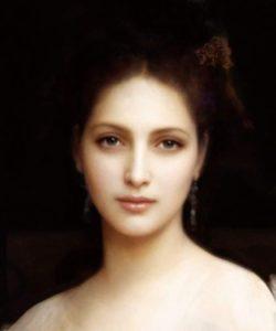 Afrodite. Un capolavoro di William Adolphe Bouguereau (1825/1905) Deep Fake
