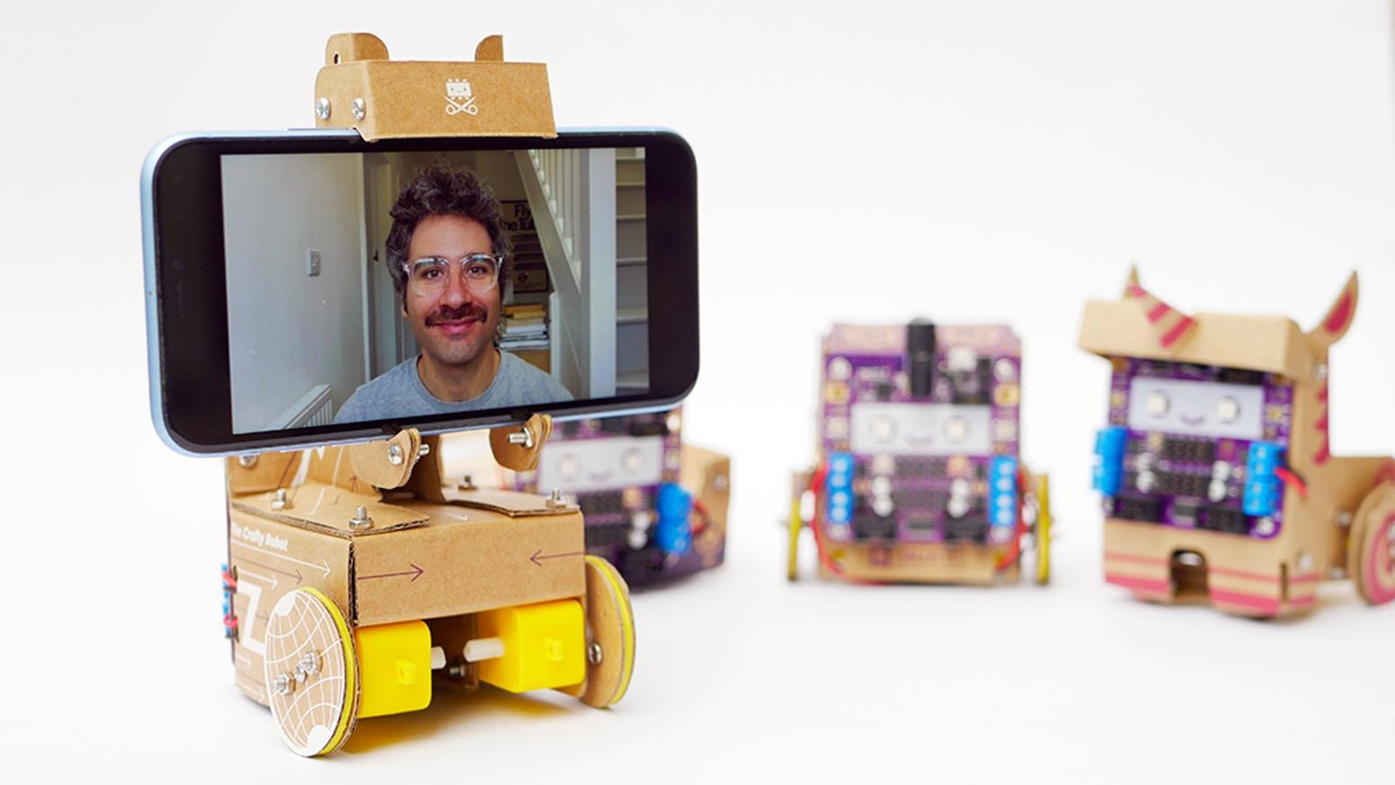 Smartipresence il robot di telepresenza in... cartone!