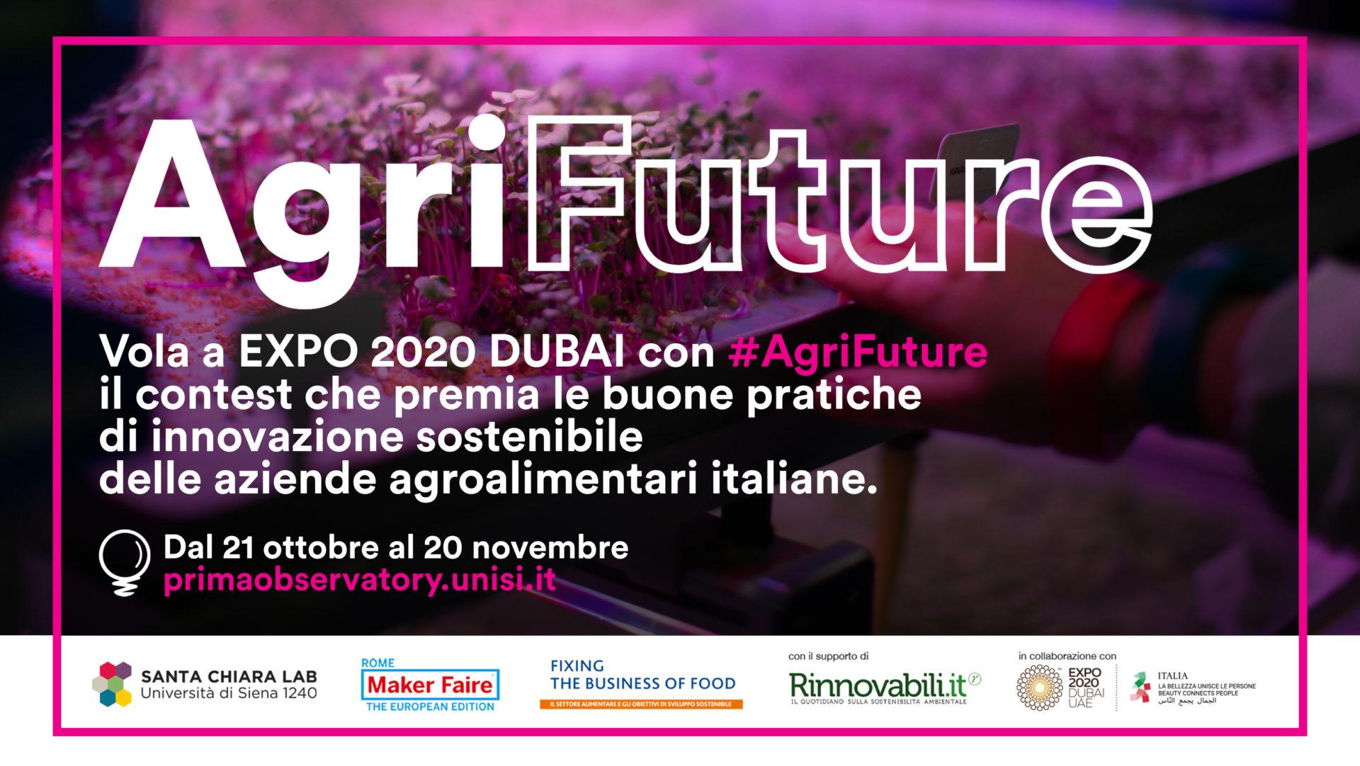 #AgriFuture, il contest che porta l'agritech italiano a Expo Dubai 2020