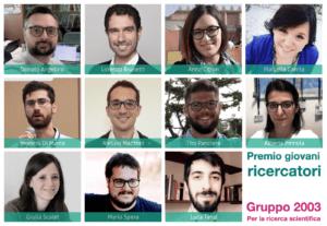 Vincitori Premio Ricercatori 2020