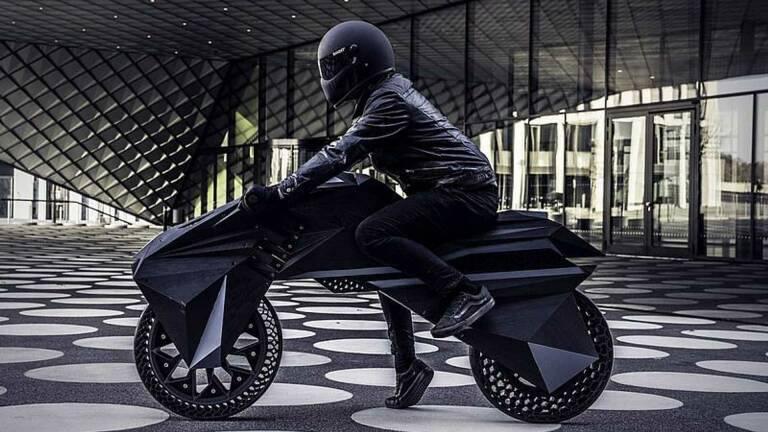 Nera: la prima moto elettrica al mondo stampata in 3D