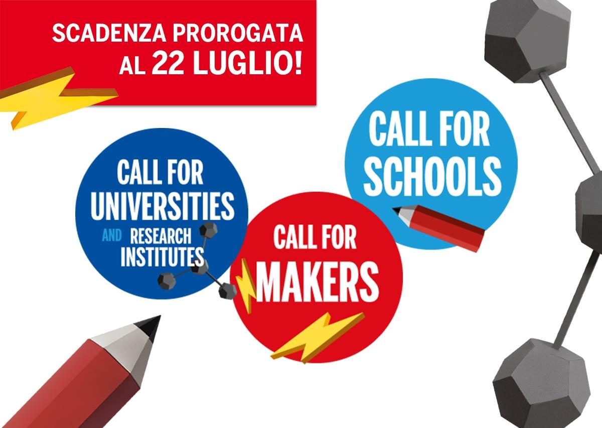 Call di #MFR2021: scadenza prorogata!