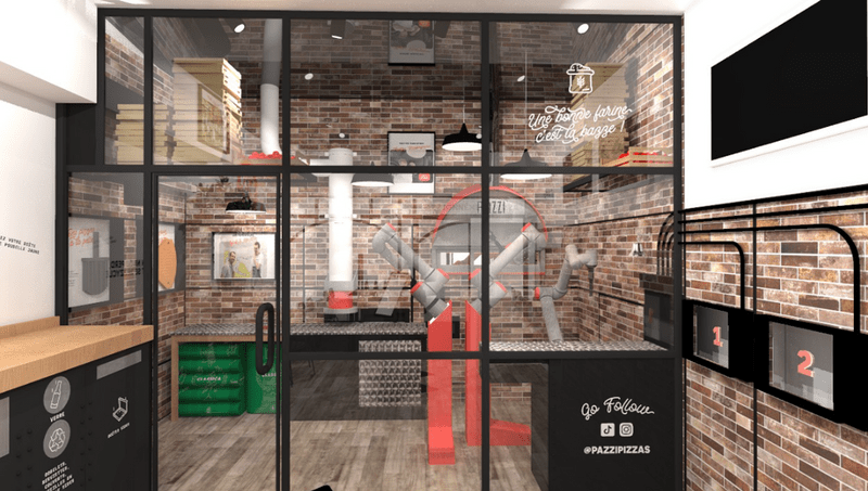 Parigi: apre una pizzeria in cui il pizzaiolo è un robot
